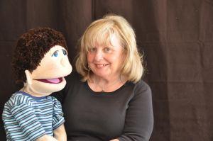 Sarah B puppeteer
