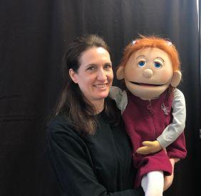 Sarah & Puppeteer Jennifer